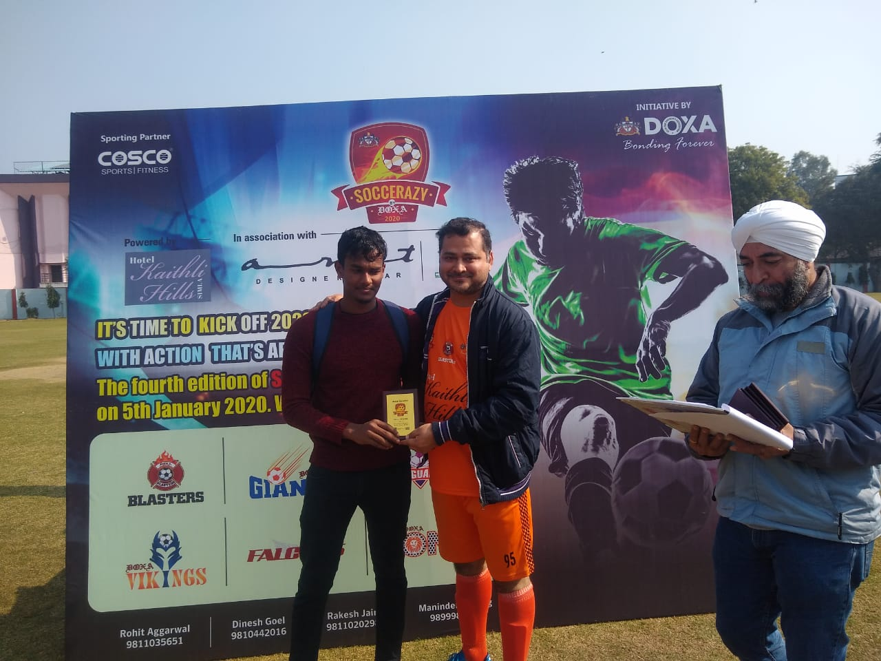 Soccerazy kicks off 4th Edition - Day 1 - 5th Jan, 2020<br>